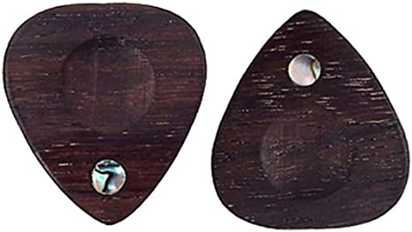 Selma. 2 púas de madera para guitarra acústica con forma de ...