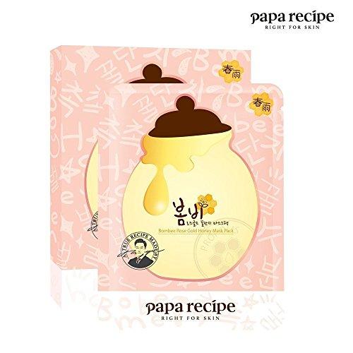 Papa Recipe Bombee Rose Gold Honey Mask Pack 10pcs