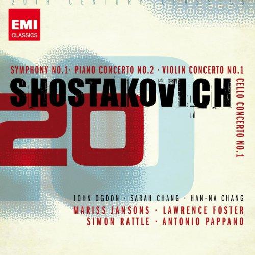 Shostakovich: Symphony No. 1, Piano Concerto No. 2, violin Concerto No. 1, Cello Concerto No. 1
