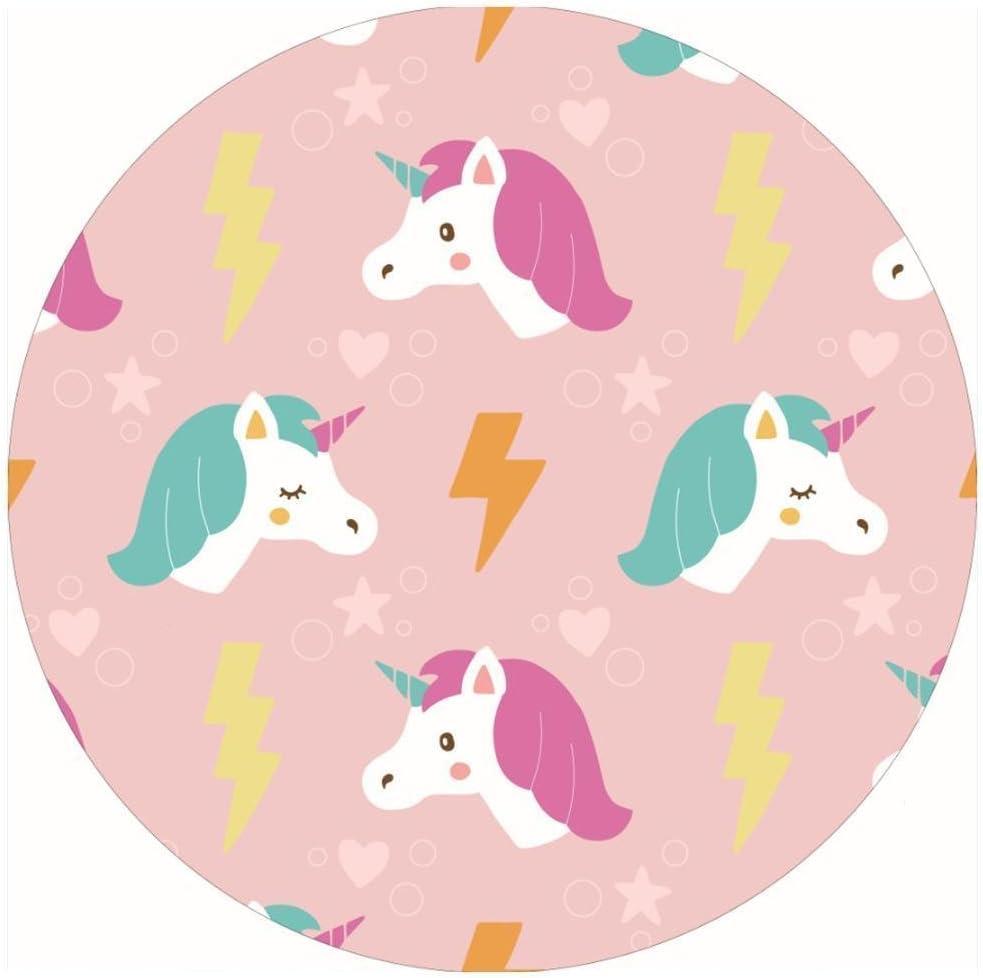 NEWSTARTS New Tassels Unicorn Microfiber Ronda Toallas de playa Dise/ño Beach Blanket verano