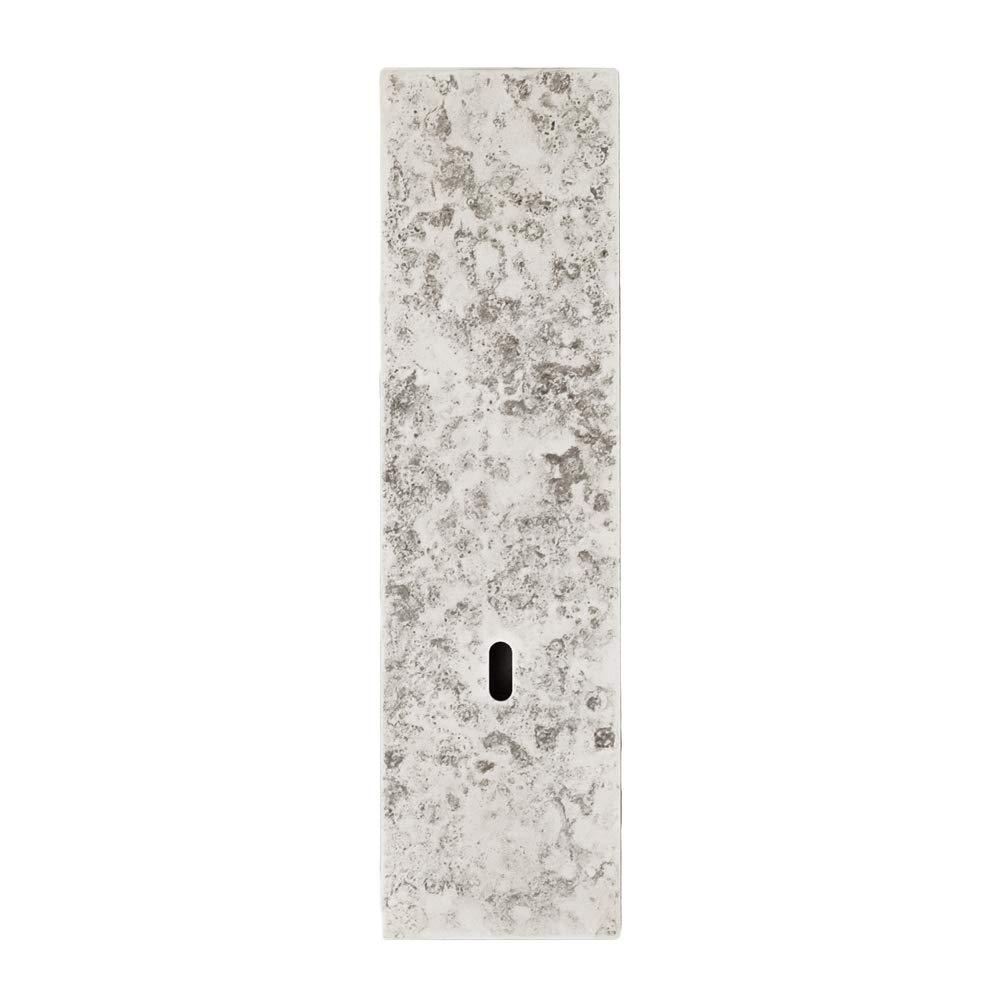 瓶一輪挿し on the wall mini 斑紋純銀色 高岡銅器 花器フラワーベース B01NAJ2Y2L