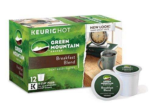 Green Mountain Breakfast Blend K Cups (72 Count)