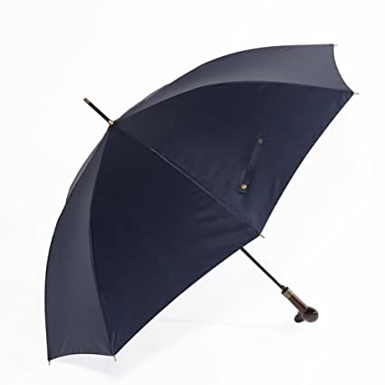 ZJM-umbrella Creativo de Grado Superior Hecho a Mano Paraguas Largo Paraguas Mango de Madera