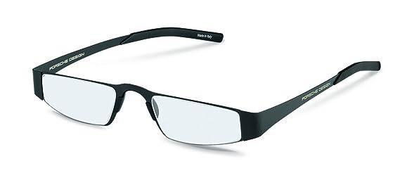 5da479af4d50 Amazon.com  Porsche Design P8811 A Unisex Lightweight Reading Eye Glasses  Eyewear Frames (Black (A)