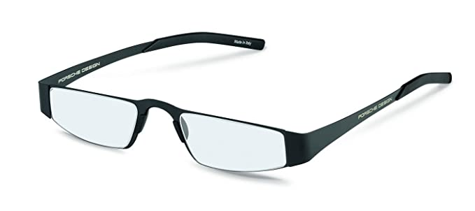33556887e8 Porsche Design P8811 A Unisex Lightweight Reading Eye Glasses Eyewear  Frames (Black (A)