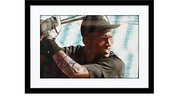 00b3297af426e0 Framed Michael Jordan Photo Authentic Autograph with Certificate of  Authenticity at Amazon's Sports Collectibles Store