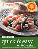 Tried and True - Quick and Easy, Allrecipes.com Staff, 0971172323