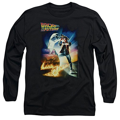 Long Sleeve Back To The Future Bttf Poster Longsleeve Shirt Size L (Back To The Future Long Sleeve Shirt)