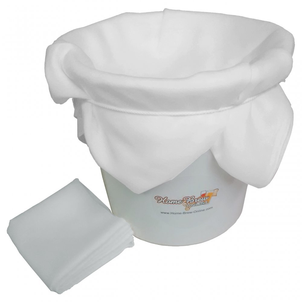Chefs Muslin Home Brew Strainer Filter Cloth Butter Jam Food Fruit Hops 1 sqm Home Brew Online