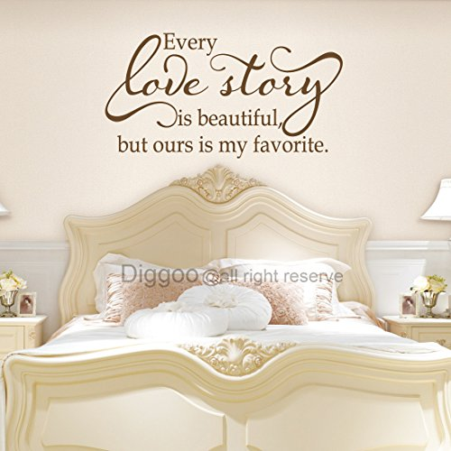 Cheap  Diggoo Every Love Story is Beautiful But Ours is My Favorite Wall..