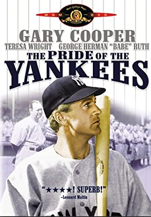 Amazon com: The Pride of the Yankees: Gary Cooper, Teresa