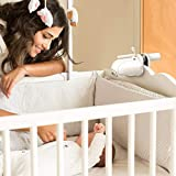 HOLACA Baby Monitor Mount Bracket for Infant Optics DXR-8 Baby Monitor, Compatible with Universal Baby Cradle-No Need Tools