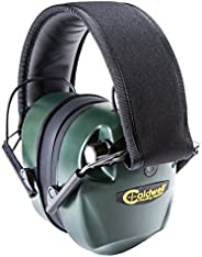 Caldwell E-Max Low Profile Electronic Hearing Protection with Sound Amplification 21-25 NRR - Adjustable Earmu