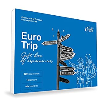 Amazon Com Euro Trip Tinggly Voucher Gift Card In A Gift Box