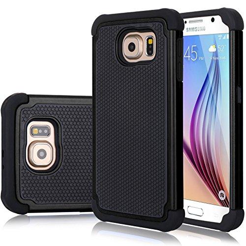 Galaxy S6 Edge Case, Jeylly(TM) [Shock Proof] Scra…