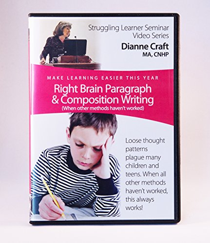 Right Brain Paragraph & Composition Writing (When other methods haven't worked)