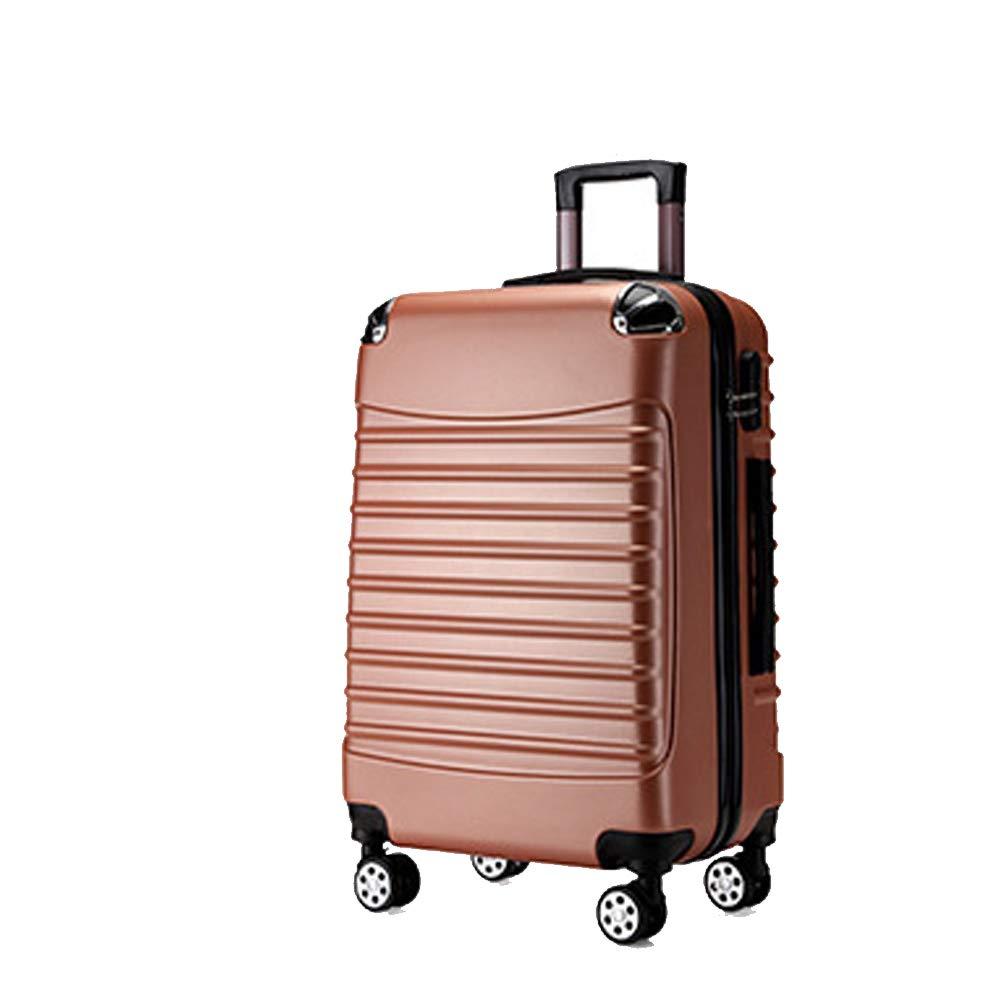 荷物工場、トロリーケース、男性スーツケース、ユニバーサルホイール搭乗、トラベルケース、-Rosegold-S Small Rosegold B07R719H6V