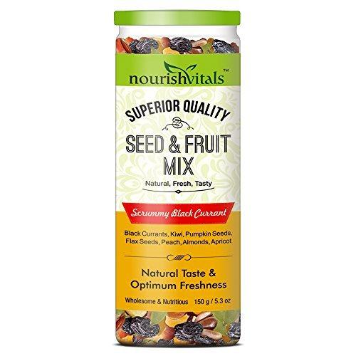 NourishVitals Seed & Fruit Mix - Scrummy Black Currant