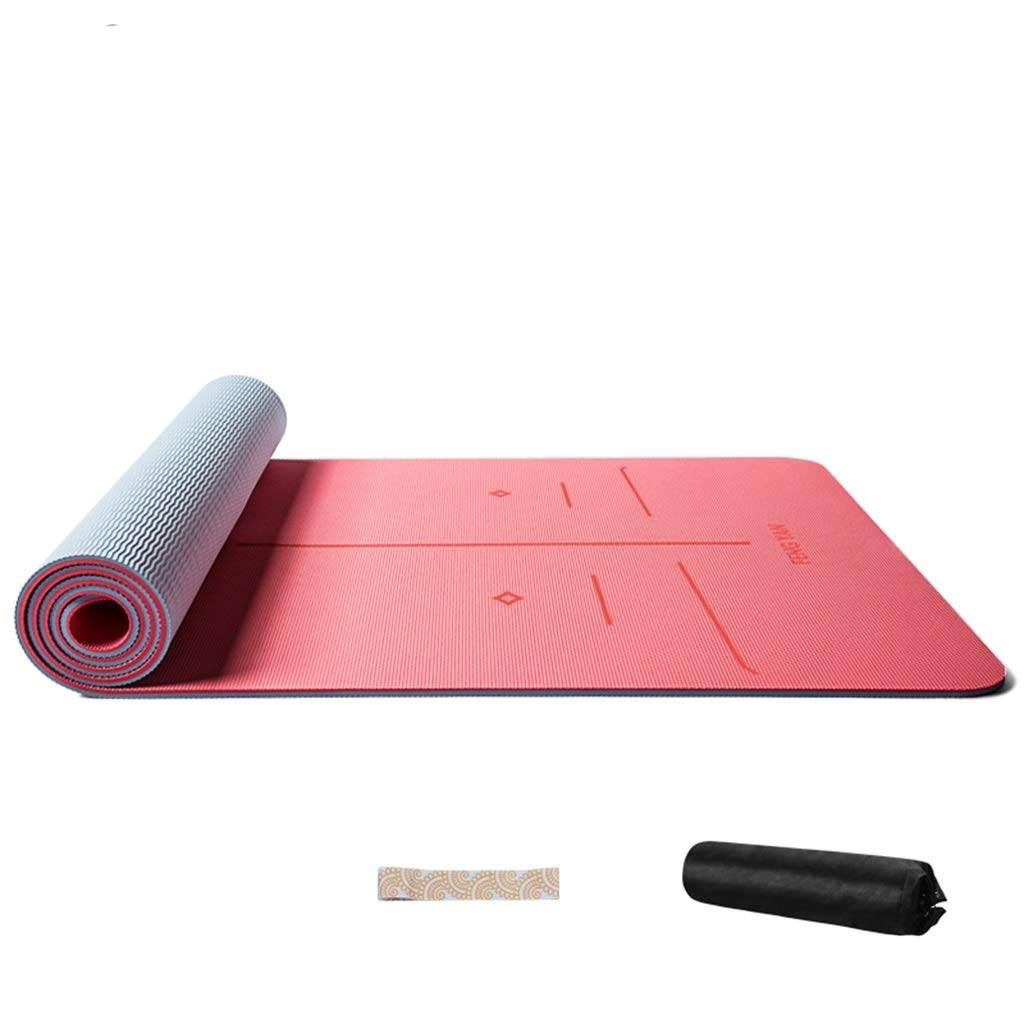Amazon.com : DJDL Thicken Widened Long Yoga Mat Female Non ...