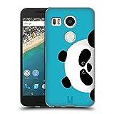 Head Case Designs Panda Peeking Animals Soft Gel Case for LG Nexus 5X
