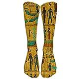 Have Fun Ancient Egypt Naughty Knee Socks Soccer Girls Knee-high Long Tube Socks