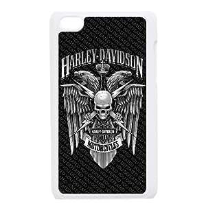 iPod Touch 4 Case White Harley Davidson YR128098