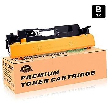 Con Chip] 1-paquete Para HP 17A CF217A Cartucho De Tóner Negro ...