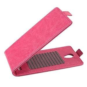 Arriba-abajo tirón de la caja protectora de cuero para THL l969 (color: rojo)