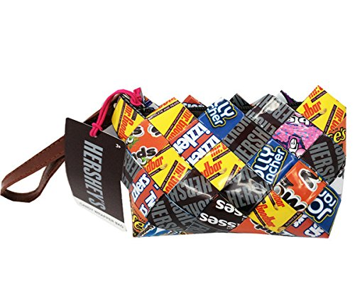 Princess Candy Wrapper Hand Woven Clutch Bag - Candy Wrapper Costume