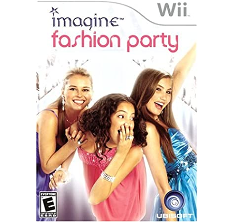 Amazon Com Imagine Fashion Party Nintendo Wii Artist Not Provided Video Games