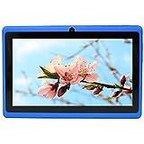 Yuntab Q88H - 7 Zoll Tablet PC,Android 4.4, Quad Core, HD 1024x600, Dual-Kamera, Bluetooth, Wi-Fi, 8GB, 3D Spiel Unterstützte Schwarz