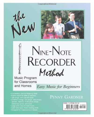 The New Nine-Note Recorder Method Book
