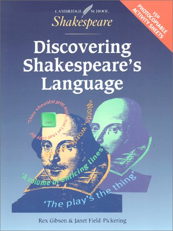 Discovering Shakespeare's Language (Cambridge School Shakespeare) by Brand: Cambridge University Press