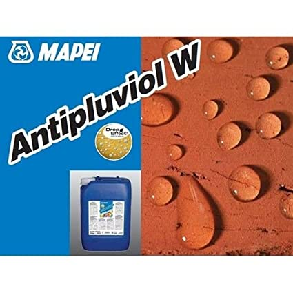MAPEI ANTIPLUVIOL W IDROREPELLENTE 10 KG: Amazon.it: Fai da te