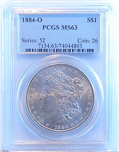 1884 O Morgan Dollar PCGS MS63
