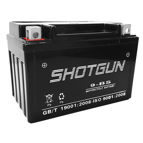 SHOTGUN Ytx9l Ytx9-bs Ytx9bs Gtx9-bs Ctx9-bs Utx9 Motorcycle Atv Gel Maintance Free Battery for Honda Fourtrax 300ex 400ex 400 Trx CBR 600 Suzuki Gsxr 600 750 Katana KTM Kawasaki BatteryJack inc. 9-BS-SHOTGUN