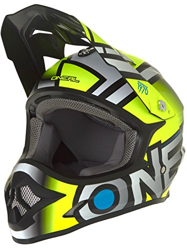 O'Neal 0623-624 3 Series Radium Helmet (Hi-Viz/Gray, (624 Series)