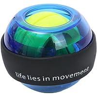 Bomoya Pols Power Gyro Ball,LED Pols Ball Trainer,Hand Oefening Bal,Gyro Ball voor het versterken van armen, vingers…