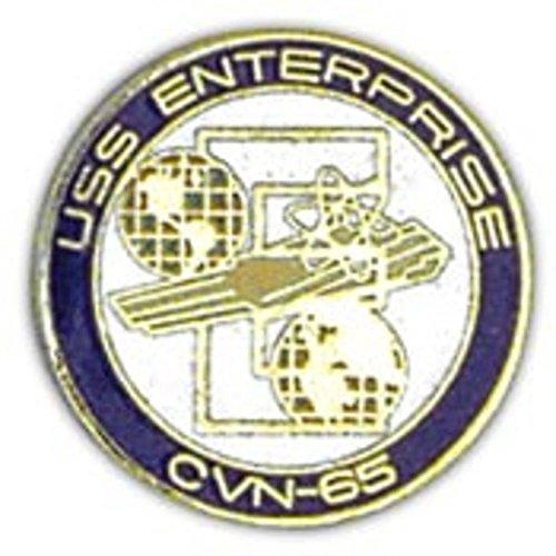 Uss Enterprise Navy - U.S. Navy USS Enterprise CVN-65 Round Pin 1