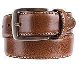 Kirkland Signature Men's Italian Leather Full Grain Belt Brown Size 34