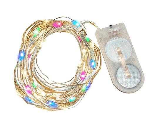 300 Count Led Multi Color Micro Christmas Lights - 5