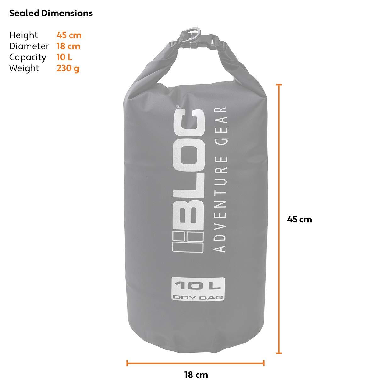 Bloc 10 Litre Dry Sac BLOC EYEWEAR USA