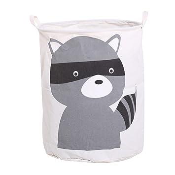 Dooxi Multifunktionale Aufbewahrungssack Aufbewahrungskorb Faltbar für  Spielzeug oder Wäschekorb Kinderzimmer