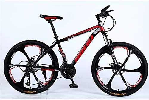 Ydshyth Bicicleta De Montaña Frenos De Doble Disco Amortiguador De ...