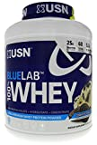 USN Blue Lab 100% Whey Cookies & Cream For Optimal Muscle Support, Nitrogen Retention and Amino Acid Conversion 4.5 LBS