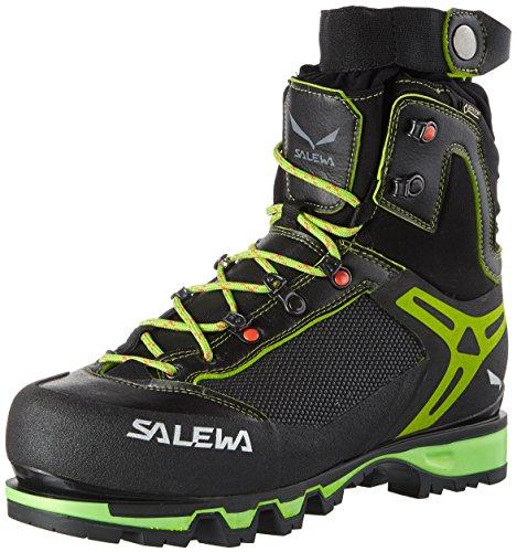 Salewa Men's VULTUR Vertical GTX-M Climbing Boot, Black/Cactus, 11