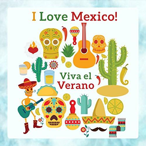 I Love Mexico! Viva el Verano: Hot Summer Passion, Latin Fiesta, Instrumental Mexican Songs - Mexican Fiesta Songs