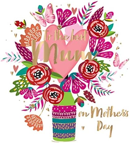 Mothers Day Card To The Best Mum Fifth Avenue Greeting By Talking Pictures