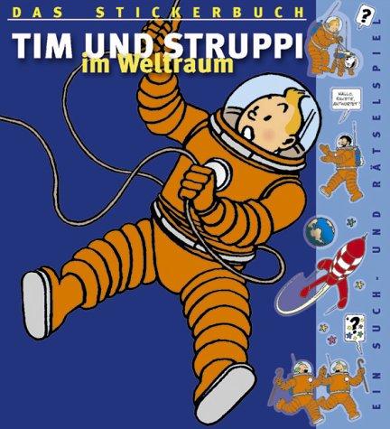Tim und Struppi im Weltraum, Stickeralbum Taschenbuch – 2003 Herge Carlsen 3551771324 MAK_9783551771322