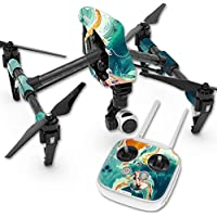 Skin For DJI Inspire 1 Quadcopter Drone – Acid Surf | MightySkins Protective, Durable, and Unique Vinyl Decal wrap cover | Easy To Apply, Remove, and Change Styles | Made in the USA